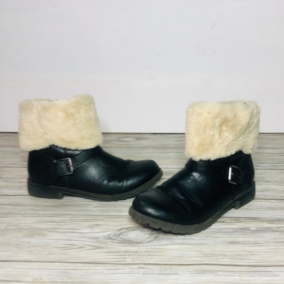 Children's Place Other - Children's Place Girl's Black Boots Size 4